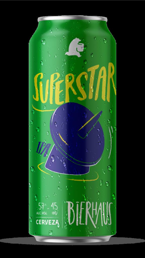 Bierhaus Superstar IPA 473cc x6