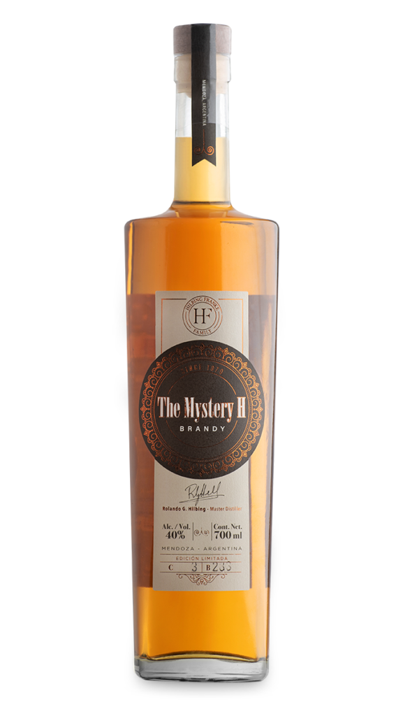 Hilbing The Mistery H Brandy 700cc x1