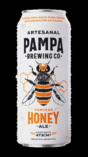 Pampa Honey 473cc x6